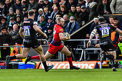 Chris Pennell of Worcester Warriors in action - Mandatory by-line: Craig Thomas/JMP - 10/02/2018 - RUGBY - Sandy Park Stadium - Exeter, England - Exeter Chiefs v Worcester Warriors - Aviva Premiership