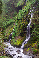 Feature Show Falls, Mt. Baker-Snoqualmie National Forest, Washington, US