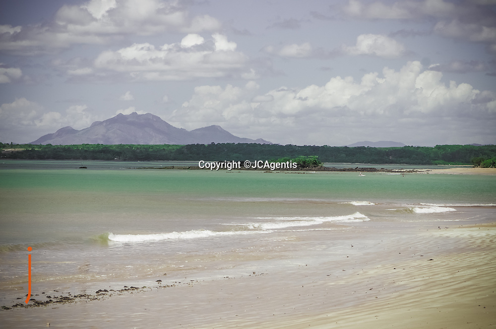 Beach view from the Pousada dosCocais, Aracruz, Espirito Santo Brazil 2014 by Lehigh Valley Photographer Jacqueline C Agentis, ©JCAgentis