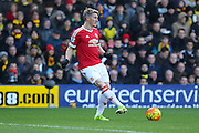 Bastian Schweinsteiger of Manchester United during the Barclays Premier League match between Watford and Manchester United at Vicarage Road, Watford, England on 21 November 2015. Photo by Phil Duncan.