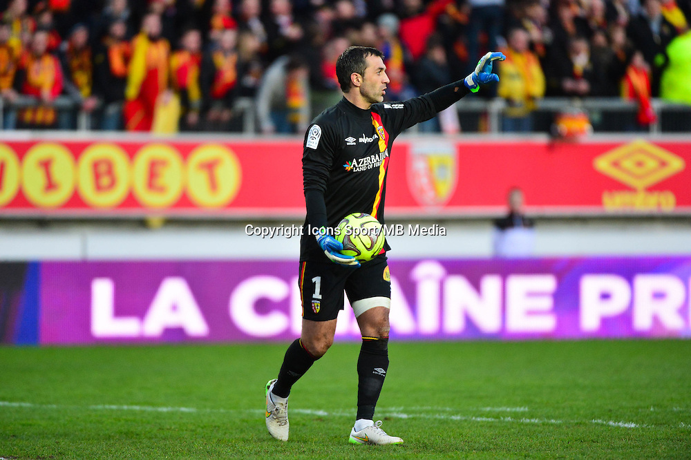 Rudy RIOU - 17.01.2015 - Lens / Lyon - 21eme journee Ligue 1<br />