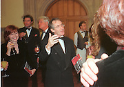 Mr. and Mrs. Ian McEwan, 1998 Booker prize evening. Guildhall. Gresham St. London EC@. 27/10/98. SUPPLIED FOR ONE-TIME USE ONLY> DO NOT ARCHIVE. © Copyright Photograph by Dafydd Jones 66 Stockwell Park Rd. London SW9 0DA Tel 020 7733 0108 www.dafjones.com