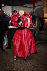 September 13, 2018 - New York, New York, United States - Nicki Minaj attends Marc Jacobs show at New York Fashion Week,  in New York City, US, on 12 September 2018. (Credit Image: © Oleg Chebotarev/NurPhoto/ZUMA Press)