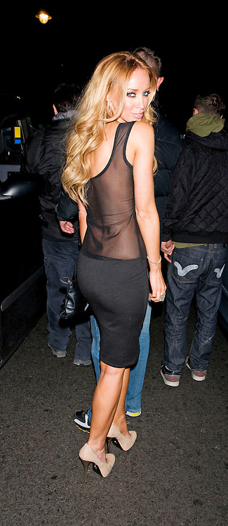 14.SEPTEMBER.2011. LONDON<br /> <br /> STARS OF TV SHOW 'THE ONLY WAY IS ESSEX', LAUREN POPE, LEAVE THE AURA CLUB IN MAYFAIR, IN LONDON<br /> <br /> BYLINE: EDBIMAGEARCHIVE.COM<br /> <br /> *THIS IMAGE IS STRICTLY FOR UK NEWSPAPERS AND MAGAZINES ONLY*<br /> *FOR WORLD WIDE SALES AND WEB USE PLEASE CONTACT EDBIMAGEARCHIVE - 0208 954 5968*