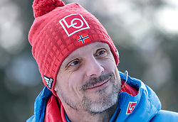 14.03.2018, Granasen, Trondheim, NOR, FIS Weltcup Ski Sprung, Raw Air, Trondheim, im Bild Cheftrainer Alexander Stoeckl (NOR) // Austrian Headcoach Alexander Stoeckl of Norway during the 3rd Stage of the Raw Air Series of FIS Ski Jumping World Cup at the Granasen in Trondheim, Norway on 2018/03/14. EXPA Pictures © 2018, PhotoCredit: EXPA/ JFK