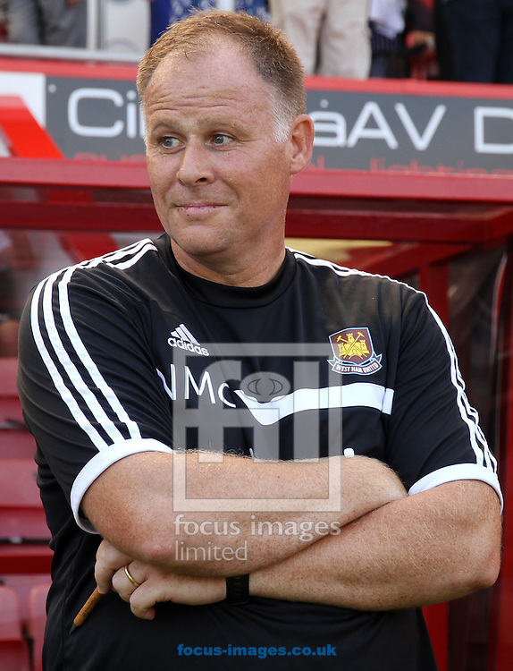 Picture by Tom Smith/Focus Images Ltd 07545141164<br /> 13/07/2013<br /> Neil McDonald of West Ham United during the Stephen Purches testimonial pre season friendly match at the Seward Stadium, Bournemouth.