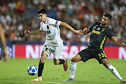 Carlos Soler of Valencia CF during the UEFA Champions League, Group H football match between Valencia CF and Juventus FC on September 19, 2018 at Mestalla stadium in Valencia, Spain - Photo Manuel Blondeau / AOP Press / ProSportsImages / DPPI