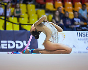 "Alessia Russo by team italia of rhythmic gymnastics  during the ""7th tournament city of Desio"", 09 March 2019."