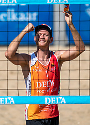 25-08-2019 NED: DELA NK Beach Volleyball, Scheveningen<br /> Last day NK Beachvolleyball / Alexander Brouwer