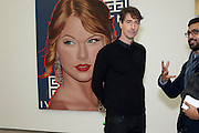 RICHARD PHILLIPS, Richard Phillips, Most Wanted. Private view at White Cube. Hoxton Sq. London. 27 January 2011, -DO NOT ARCHIVE-© Copyright Photograph by Dafydd Jones. 248 Clapham Rd. London SW9 0PZ. Tel 0207 820 0771. www.dafjones.com.