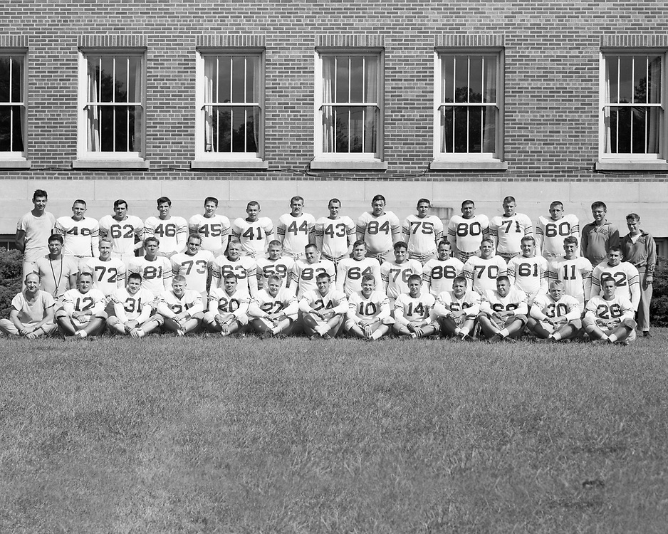 1954  Football<br /> Indiana Collegiate Conference<br /> Regular Season Champion