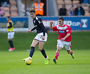 Dundee&rsquo;s Jack Hendry and Brechin's Finn Graham - Brechin City v Dundee pre-season friendly at Glebe Park, Brechin, Photo: David Young<br /> <br />  - &copy; David Young - www.davidyoungphoto.co.uk - email: davidyoungphoto@gmail.com