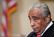 Nov 15, 2010 - Washington, District of Columbia, U.S. - Rep. CHARLES RANGEL (D-N.Y.) appears before a Adjudicatory Subcommittee hearing to determine whether any alleged ethics violations he committee can be proven by clear and convincing evidence. The hearing/trial is expected to last approximately one week..(Credit Image: © Pete Marovich/ZUMA Press)