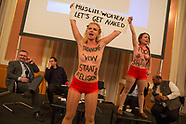 FEMEN at Islamwoche Berlin