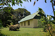 Nakiku church, 1867, Hana Coast, Maui, Hawaii