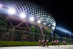 September 19, 2019, Singapore, Singapore: Motorsports: FIA Formula One World Championship 2019, Grand Prix of Singapore, .#99 Antonio Giovinazzi (ITA, Alfa Romeo Racing) (Credit Image: © Hoch Zwei via ZUMA Wire)