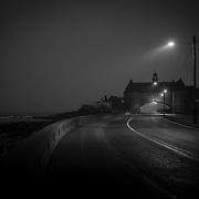 Today's foggyl Winter Sunrise  at Narragansett Town Beach, Narragansett, RI,  January  14, 2013. Photo: Tripp Burman