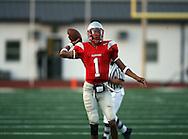 Lee's Quarterback Jerome Tiller, Lee vs. Roosevelt, 15 Sep 07, Comalander Stadium, San Antonio, TX.  Roosevelt pounces Lee 51-34 in a high scoring shootout.
