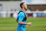 Forest Green Rovers Rhys Murphy (39) warming up during the Vanarama National League match between Dover Athletic and Forest Green Rovers at Crabble Athletic Ground, Dover, United Kingdom on 10 September 2016. Photo by Shane Healey.
