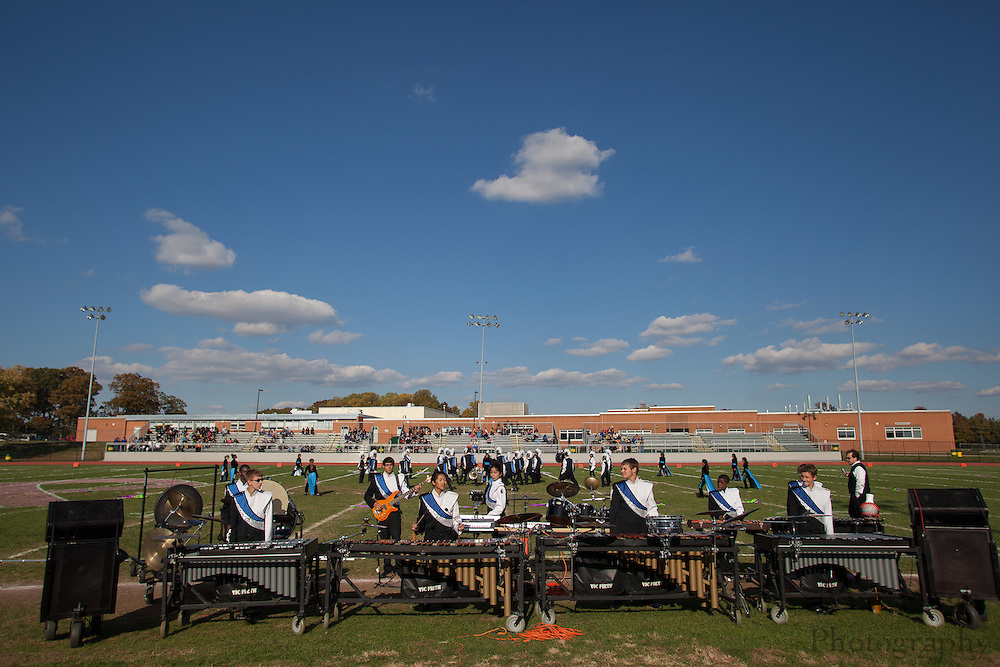 Timber Creek High School's marching band performs at the South Jersey Chapter Championships held at Clearview High School on Sunday October 21, 2012. (photo / Mat Boyle)