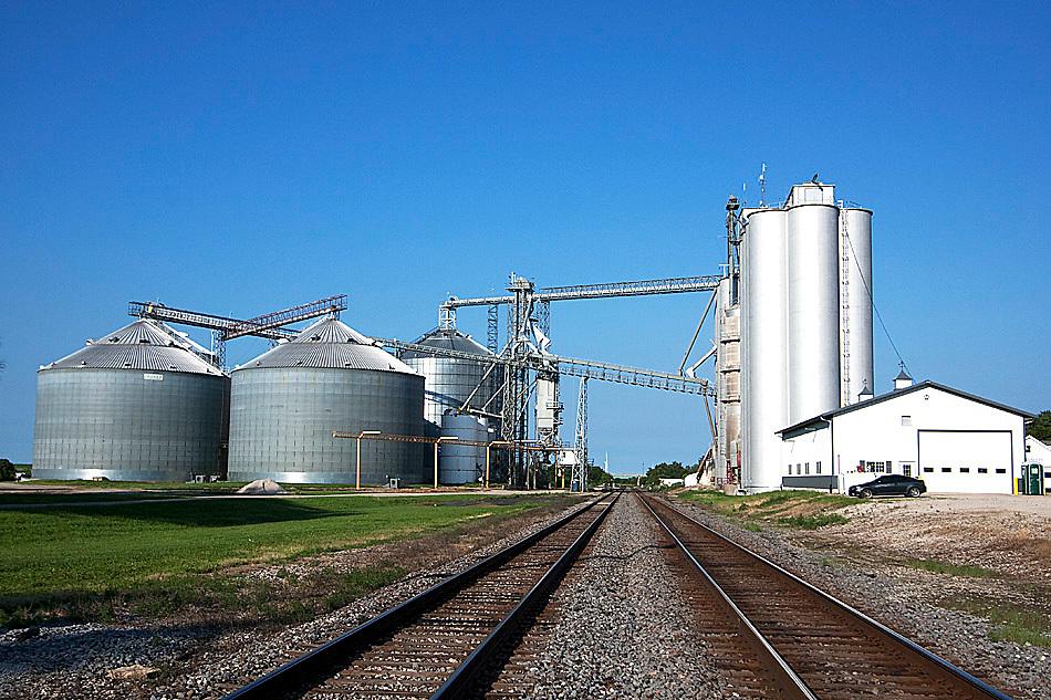 Grain Elevator, Ransom, IL.