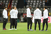 German players on pitch in warm up during the International Friendly match between Germany and England at Signal Iduna Park, Dortmund, Germany on 22 March 2017. Photo by Phil Duncan.