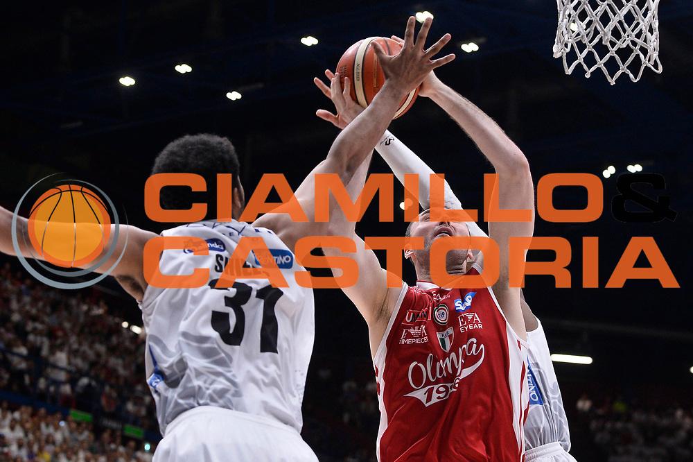 Milan Macvan<br /> EA7 Emporio Armani Olimpia Milano - Dolomiti Energia Aquila Basket Trento<br /> Playoff Gara 1<br /> Lega Basket 2016/2017<br /> Milano 25/05/2017<br /> Foto Ciamillo-Castoria