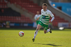 WREXHAM, WALES - Monday, May 2, 2016: The New Saints' Scott Quigley in action against Airbus UK Broughton during the 129th Welsh Cup Final at the Racecourse Ground. (Pic by David Rawcliffe/Propaganda)