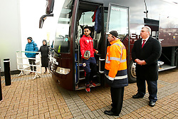 Jay Dasilva of Bristol City arrives at Pride Park Stadium for the Sky Bet Championship game against Derby County - Mandatory by-line: Robbie Stephenson/JMP - 22/12/2018 - FOOTBALL - Pride Park Stadium - Derby, England - Derby County v Bristol City - Sky Bet Championship