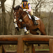 Rebecca Brown (USA) and Twinkle Toes at the Morven Park Spring Horse Trials held in Leesburg, Virginia