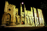 Palais des Papes (The Popes' Palace), Avignon, France.