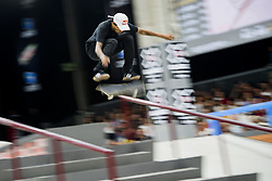May 20, 2018 - Oslo, NORWAY - 180520 Felipe Gustavo of Brazil competes in the men's street skateboard finals during X Games Norway on May 20, 2018 in Oslo.Photo: Fredrik Varfjell / BILDBYRÃ…N / kod FV / 150099 (Credit Image: © Fredrik Varfjell/Bildbyran via ZUMA Press)