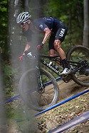 at the 2019 UCI MTB World Championships in Mont-Sainte-Anne, Canada.