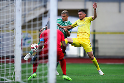 vs Andraz Kirm of Domzale during football match between NK Domzale and NK Krsko in 1st Round of Prva liga Telekom Slovenije 2018/19, on July 22, 2018 in Sports park, Domzale, Slovenia. Photo by Matic Klansek Velej / Sportida