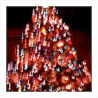 Christmas Tree, Mt. Baldy Lodge, CA. 12/24/2008 (iPhone image)