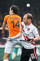 AMSTERDAM - Amsterdam - Oranje Zwart , Wagener Stadion , Hockey , Play-off hoofdklasse hockey heren , 03-05-2015 ,