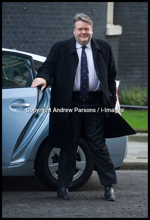Leader of the House of Commons Lord Strathclyde arrives to attend the Government's weekly Cabinet meeting at Number 10 Downing Street No 10 Downing Street, London, UK, December 18, 2012. Photo By Andrew Parsons / i-Images.