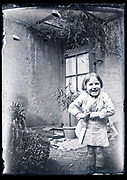 little child smiling France circa 1930s