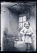 little child smiling France circa 1930s