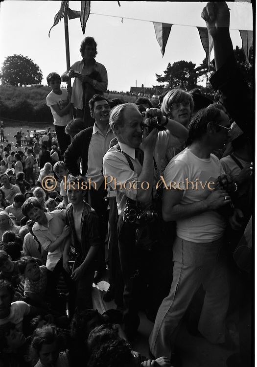 15/07/1972<br /> 07/15/1972<br /> 15 July 1972<br /> Muhammad Ali at Stewarts Hospital Fete, Palmerstown, Dublin. Snapper snapped!