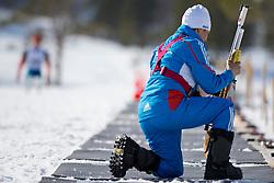 Coach, RUS, Biathlon Pursuit, 2015 IPC Nordic and Biathlon World Cup Finals, Surnadal, Norway