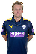 Hampshire all-rounder Gareth Berg in the 2016 Royal London One Day Cup Shirt. Hampshire CCC Headshots 2016 at the Ageas Bowl, Southampton, United Kingdom on 7 April 2016. Photo by David Vokes.
