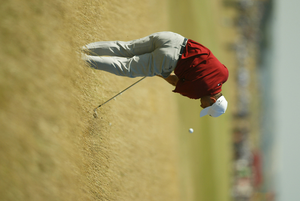 Sergio Garcia..2003 British Open..Second Round..Royal St. George's Golf Club..Sandwich, Kent, England..Friday, July 18  2003..photograph by Darren Carroll