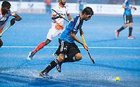 BHUBANESWAR -  Hockey World League finals , Semi Final . Argentina v India. Diego Paz (Arg).   COPYRIGHT KOEN SUYK