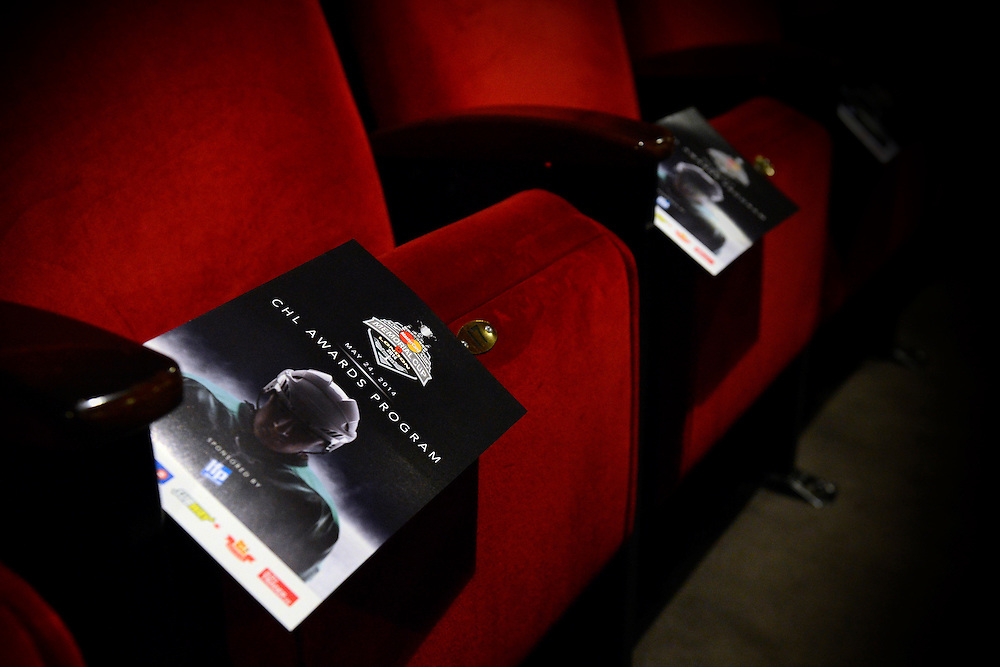 The 2013-14 Canadian Hockey League Awards Ceremony at the Grand Theatre in London, ON on Saturday May 24, 2014. Photo by Aaron Bell/CHL Images