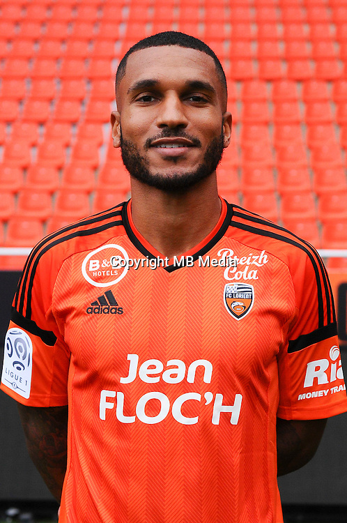 Sylvain Marvaux during the Fc Lorient photocall for the season 2016/2017 in Lorient on September 16th 2016<br /> Photo : Philippe Le Brech / Icon Sport