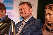 Sir Gary Verity, Chief Executive, Welcome to Yorkshire during the Tour de Yorkshire Press Conference at the National Railway Museum, York, United Kingdom on 27 April 2017. Photo by Mark P Doherty.