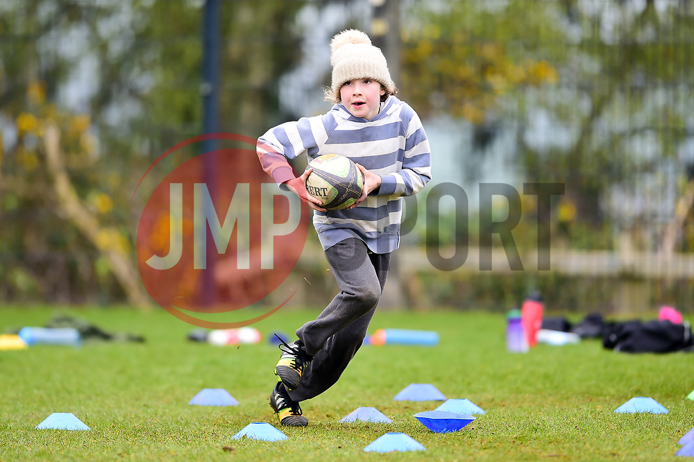 A general view during the Exeter Chiefs Community Foundation Easter Rugby Camp at Sandy Park - Ryan Hiscott/JMP - 16/04/2019 - SPORT - Sandy Park - Exeter, England - Exeter Chiefs Community Foundation Easter Rugby Camp