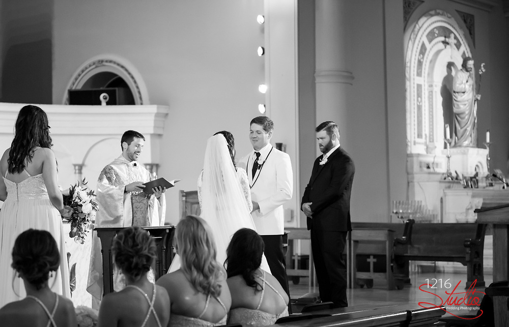 James & Addy Wedding Photography Samples | Audubon Cottages, St. Joseph Catholic Church, The Jaxson | 1216 Studio Wedding Photography