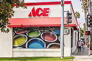 Ace Hardware Store on Coast Highway Oceanside California